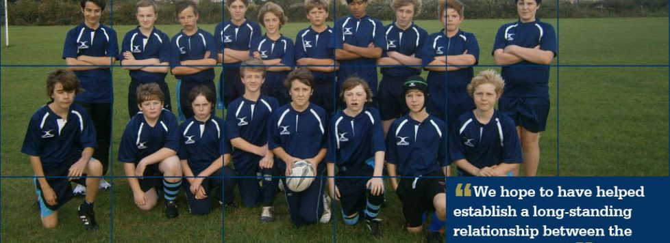 Boost to youth rugby