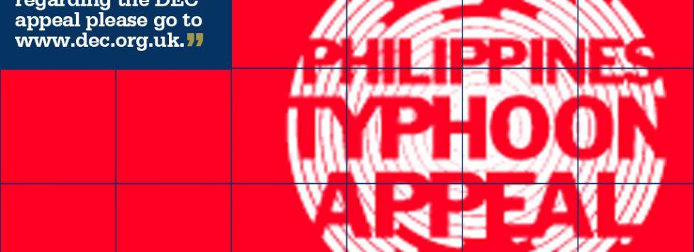 STM Week Beginning 18 November Philippines Disaster Appeal Donate Now