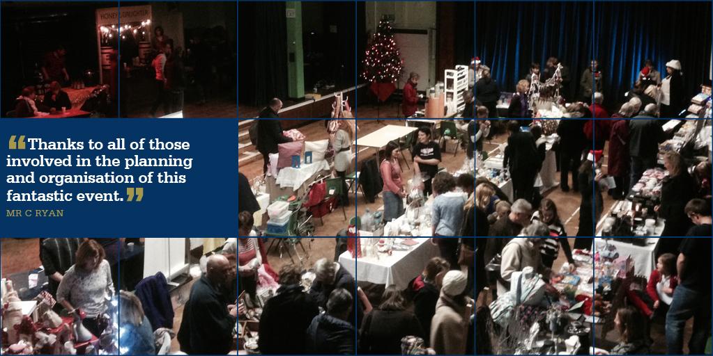 STM Week Beginning 2 December Shopping Night Raises £350
