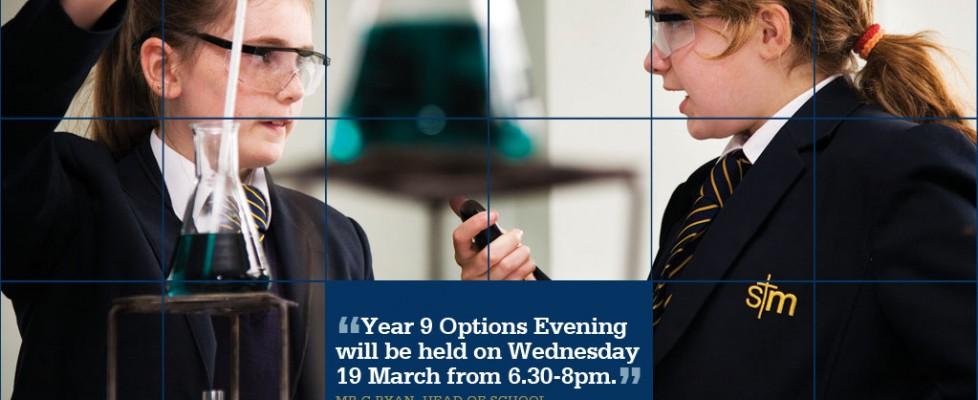 Year 9 Options Evening 2014