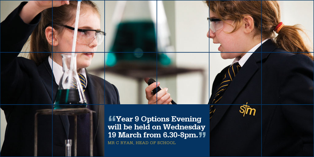 Year 9 Options Evening 2014