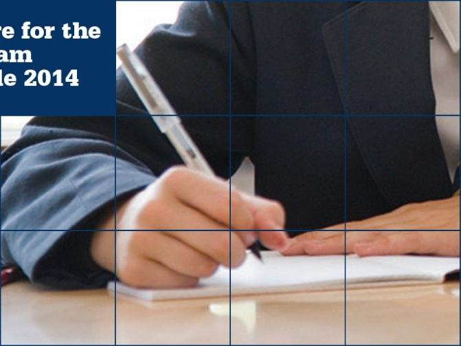 12 May - GCSE Exam 2014