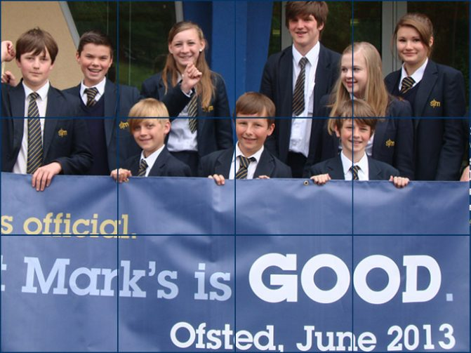 6 May - 'St Mark's is GOOD across all areas' Ofsted 2013