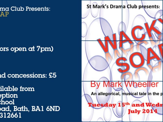 30 June - Wacky Soap