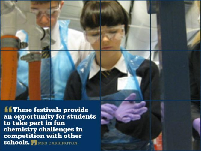 9 June - Salters' Chemistry Festival