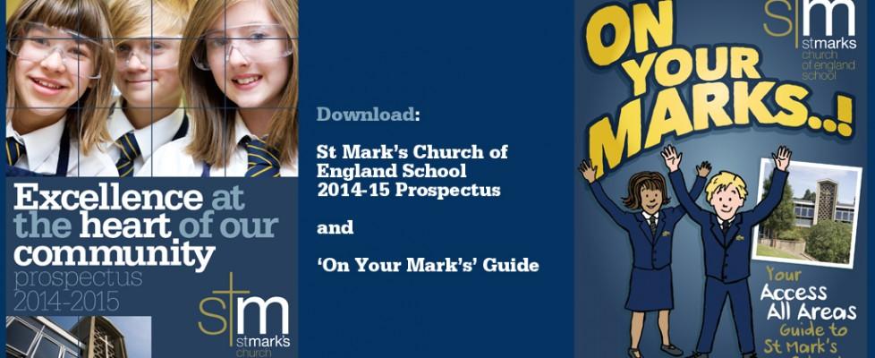 St Marks School Prospectus 2014-2015