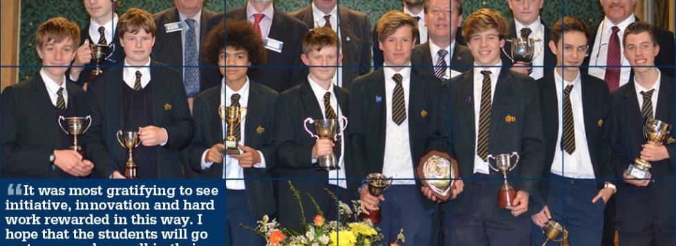 Student Successes at Awards Evening 2014