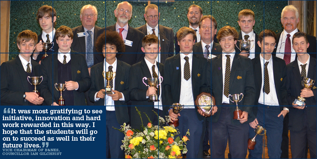 Student Successes at Awards Evening 2014