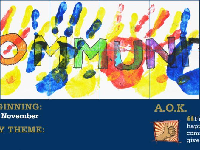 Week Beginning 24 November - Community