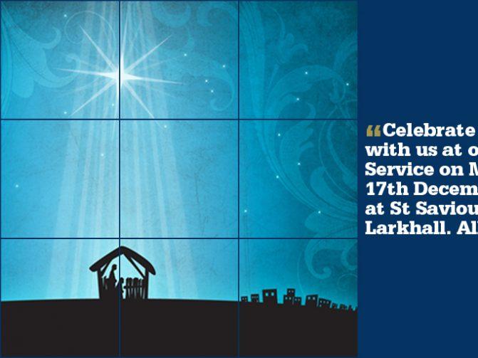 Carol Service St Saviour's Church 15 Dec 7pm