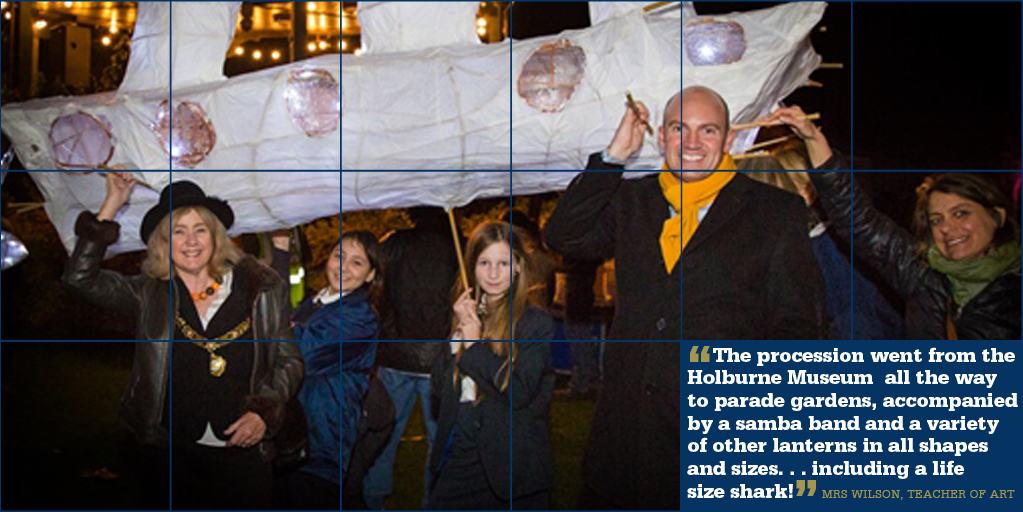 Creating a glow at this year's Lantern Festival