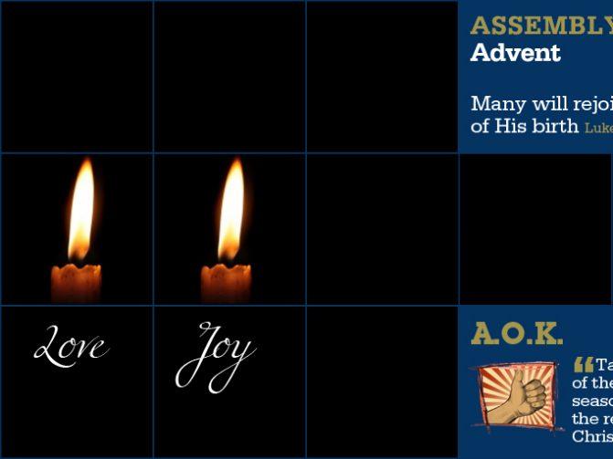 Week Beginning 15 Dec - Advent