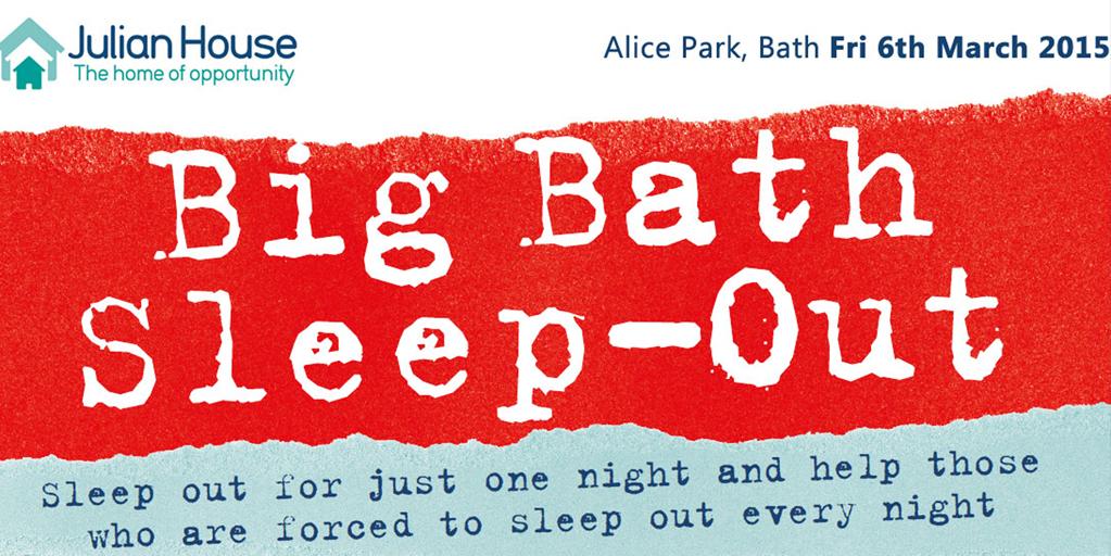 Big Sleep Out Bath