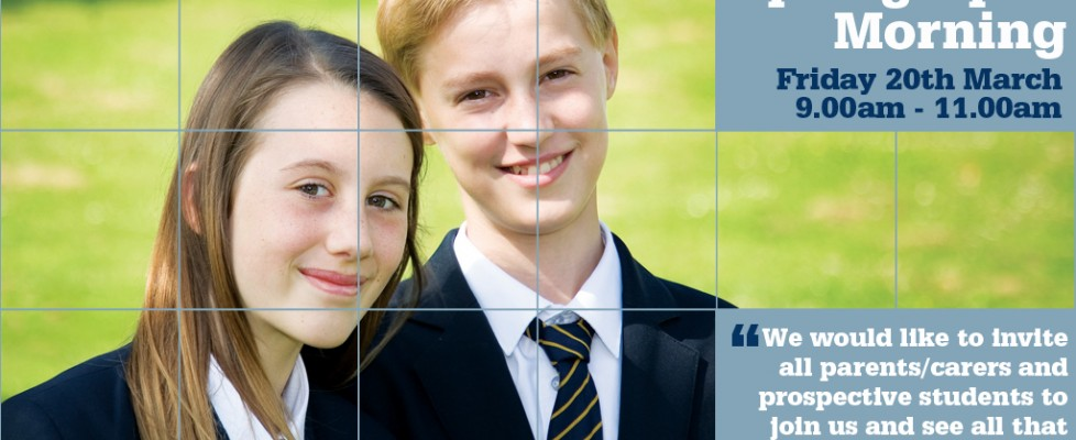 Spring Open Morning Friday 20 March 2015