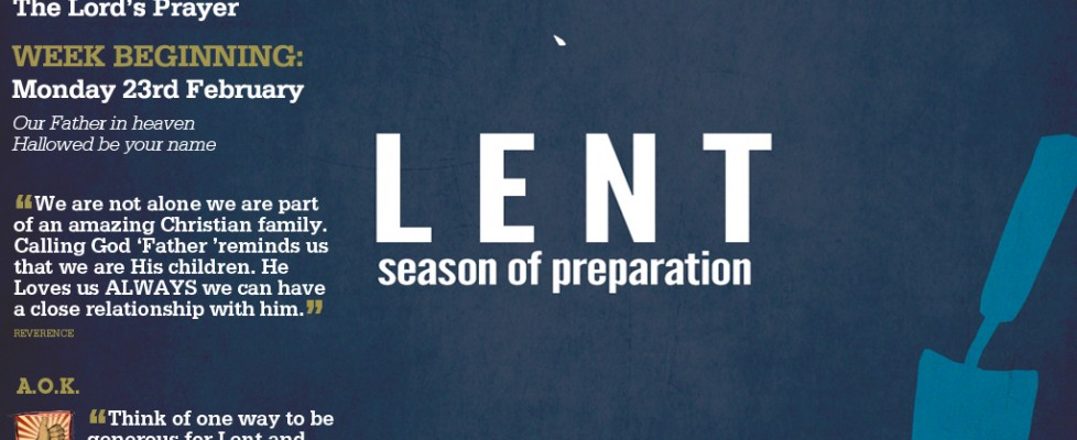 Week Beginning 23rd February - Lent Appeal