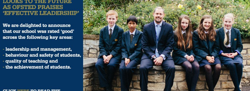 St Mark's Celebrates GOOD Ofsted