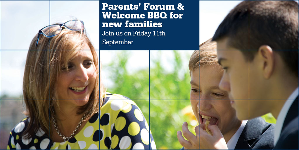 Parents' Forum and Welcome BBQ