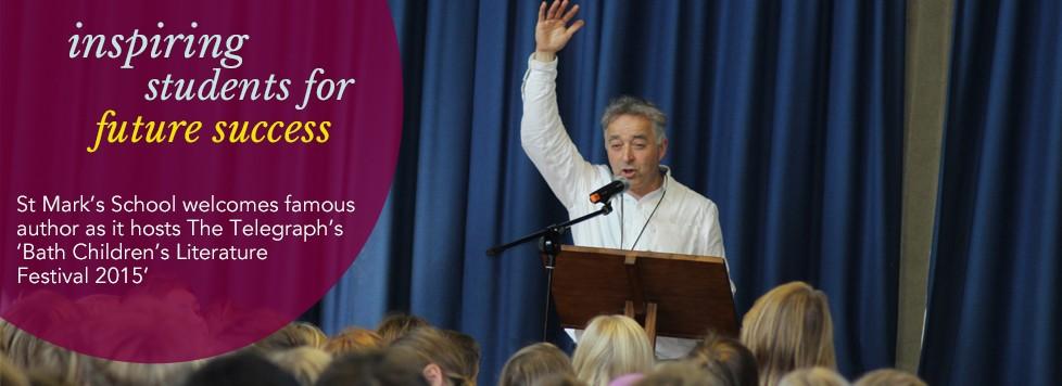 Bath Childrens Literature Festival at St Mark's