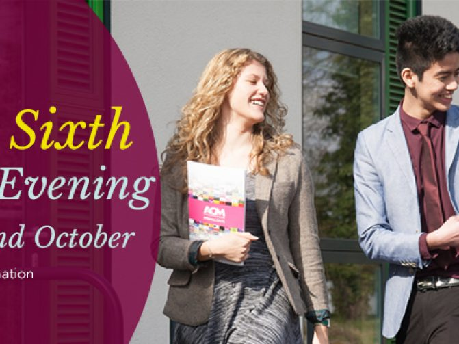 The New Sixth Open Evening