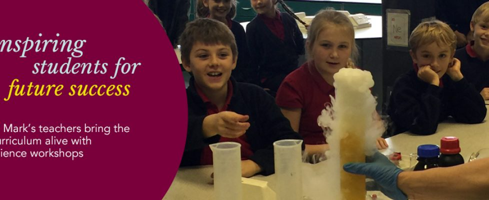 Science Workshops at St Mark's are out of this world!