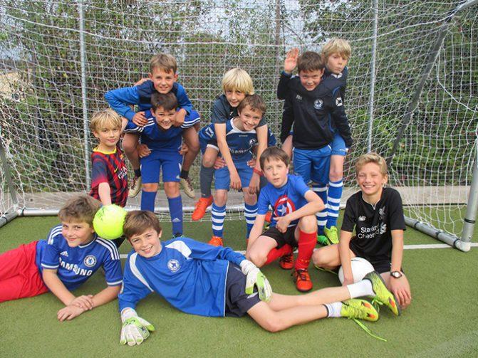 East Bath Cluster Football
