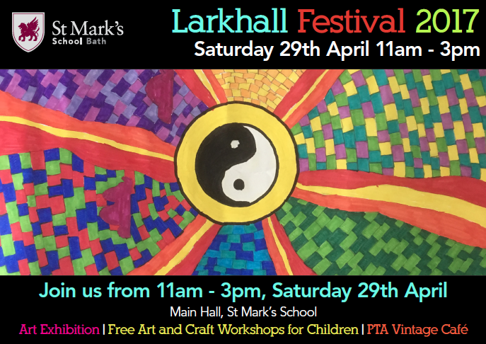 Larkhall Festival at St Mark's – This Saturday!