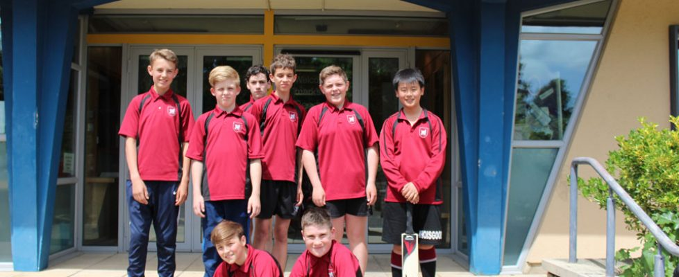 Boys Cricket 2018